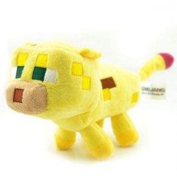 Мягкая игрушка Minecraft оцелот 22 cm