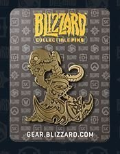Значок 2015 Blizzcon Exclusive Gold Murkidan Blizzard Pin