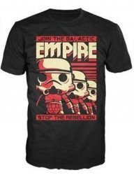 Футболка Men's Pop! T-Shirts: Star Wars - Stormtrooper Empire (размер M)
