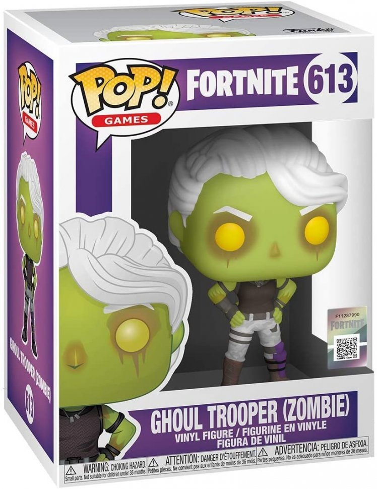 Фигурка Funko Fortnite фанко Фортнайт - Ghoul Trooper (Zombie)