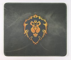 Коврик Alliance Flag World of Warcraft Gaming Mouse Pad - Альянс