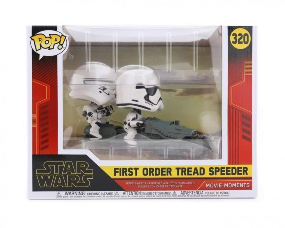 Фигурка Funko Pop! Movie Moments Star Wars: Rise of Skywalker - First Order Tread Speeder