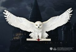 Букля Сова The Noble Collection Harry Potter Hedwig Owl Post Wall Decor