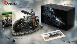 Коллекционное издание Gears of War 4: Collector's Edition (Includes Ultimate Edition SteelBook + Season Pass) - Xbox One