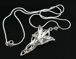 Медальон  LOTR Arwen Evenstar Necklace