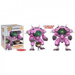 Фигурка Overwatch Funko Pop! D.Va and MEKA Buddy (Super-Sized) Figure