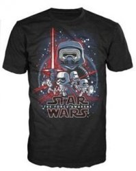 Футболка Men's Pop! T-Shirts: Star Wars - Force Awakens (размер M)
