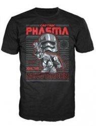 Футболка Men's Pop! T-Shirts: Star Wars - Captain Phasma (размер M)