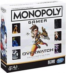 Monopoly Gamer Overwatch Collectors Edition Монополия настольная игра Овервотч