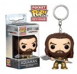 Брелок DC: Funko Pocket POP! Keychain - Justice League - Aquaman