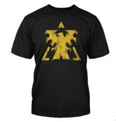 Футболка StarCraft II Terran Vintage Logo T-Shirt  (размер M/L)