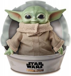 Фигурка Star Wars Mandalorian - Small Yoda Child Plush Toy