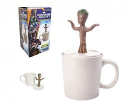 Чашка Грут Guardians of the Galaxy Baby Dancing Groot Figural Mug
