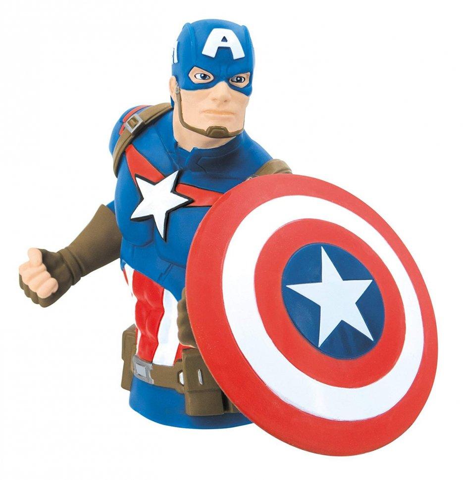 Бюст копилка Marvel Captain America Bust Bank