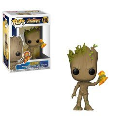 Фигурка Marvel: Funko POP Avengers Infinity War - Groot with Stormbreaker Грут