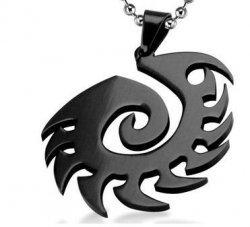 Брелок StarCraft 2 Zerg Necklace (цвет: чёрный)