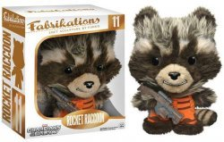 Мягкая игрушка Fabrikations Funko Marvel: ROCKET RACCOON Plush