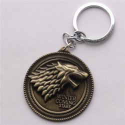 Брелок Game of Thrones Stark Wolf Head №1