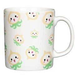 Кружка Overwatch Pachimari Ceramic Mug Green/White