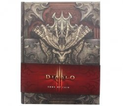 Книга Diablo III: Book of Cain by Deckard Cain (Книга Каина) Твёрдый переплёт
