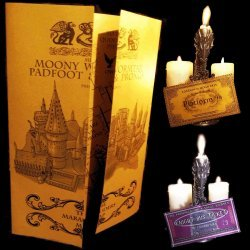 Карта Harry Potter Marauders Marauder's Map - Noble + FREE HOGWARTS EXPRESS