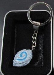 Брелок - World of Warcraft  Hearthstone синий №1