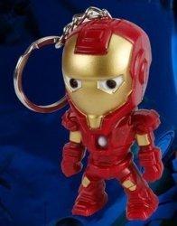 Брелок Avengers Iron Man светодиод + звук