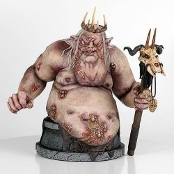 Статуэтка Goblin King The Hobbit Gentle Giant Bust  Limited edition