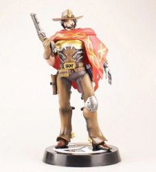 Статуэтка Overwatch McCree Statue Color Figure 33 см