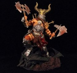Фигурка Diablo 3 Barbarian wearing a helmet action figure