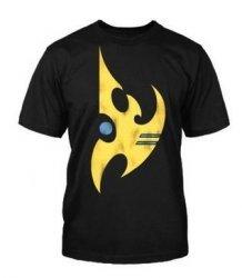 Футболка StarCraft II Protoss Vintage Logo (размер L)