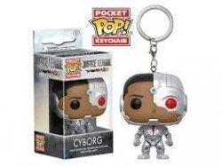 Брелок DC: Funko Pocket POP! Keychain - Justice League - Cyborg