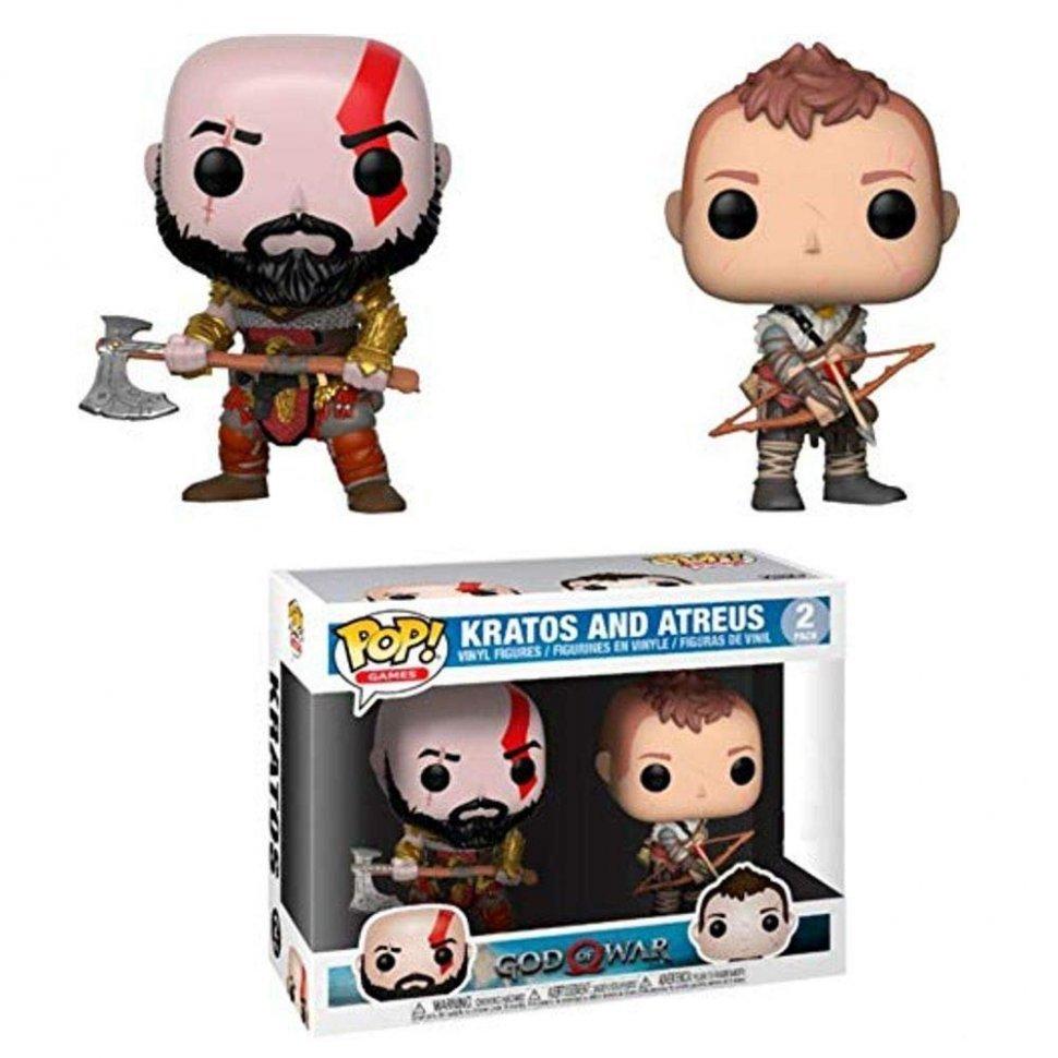 Фигурка Funko Pop! Games: God of War - Kratos and Arteus Collectible Toy