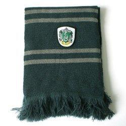 Шарф широкий Слизерин (Scarf Harry Potter Slytherin Wool)