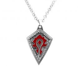 Медальон World of Warcraft Horde (Металл) №2