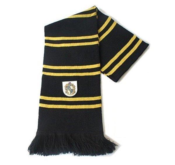 Шарф широкий Хаффлпаф (Scarf Harry Potter Hufflepuff Wool)