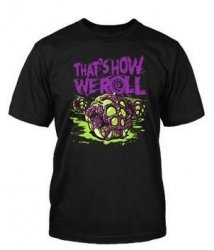 Футболка StarCraft II That's How We Roll T-Shirt (размер M)