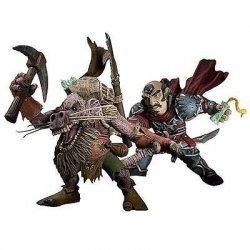 Series 8: Gnome Rogue: Brink Spannercrank VS. Kobold Miner: Snaggle 2-Pack Action Figure
