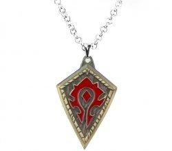 Медальон World of Warcraft Horde (Металл) №3