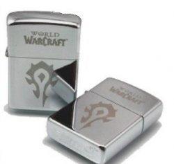 Зажигалка WORLD OF WARCRAFT   Horde (silver) №2