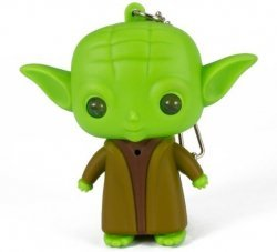 Брелок Star Wars Yoda LED