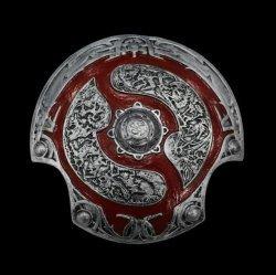 Декоративный щит Дота 2 - Aegis of Champions Dota 2 - Silver/Red