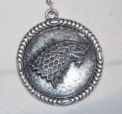 Брелок Game of Thrones  Stark Wolf (Winter is Coming)