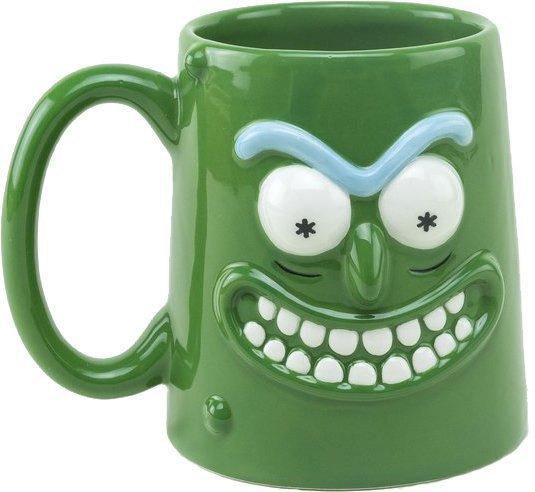 Чашка Rick and Morty 3D - Pickle Rick  GB eye кружка