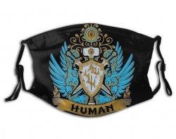 Маска защитная для лица World of Warcraft Human + 2 угольных фильтра