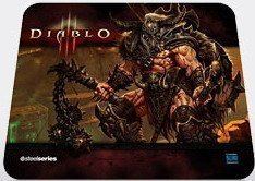 Коврик SteelSeries QcK Diablo 3® Barbarian™ Edition