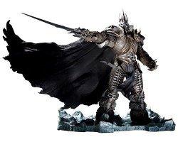 DC World of Warcraft Arthas Menethil The Lich King Deluxe  Action Figure (без оригинальной упаковки)