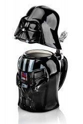 Кружка Star Wars Darth Vader Stein - Collectible 22oz Ceramic Mug with Metal Hinge