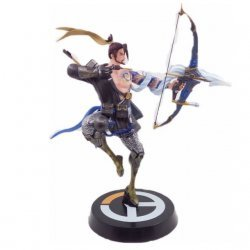 Статуэтка Overwatch Hanzo Statue Color Figure Хандзо 28 см