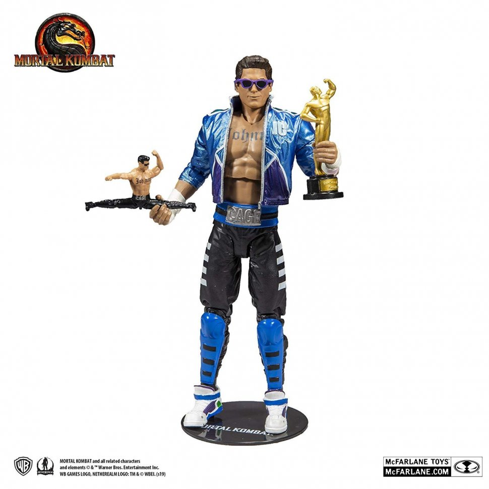 Фигурка Mortal Kombat McFarlane Toys - Johnny Cage Action Figure